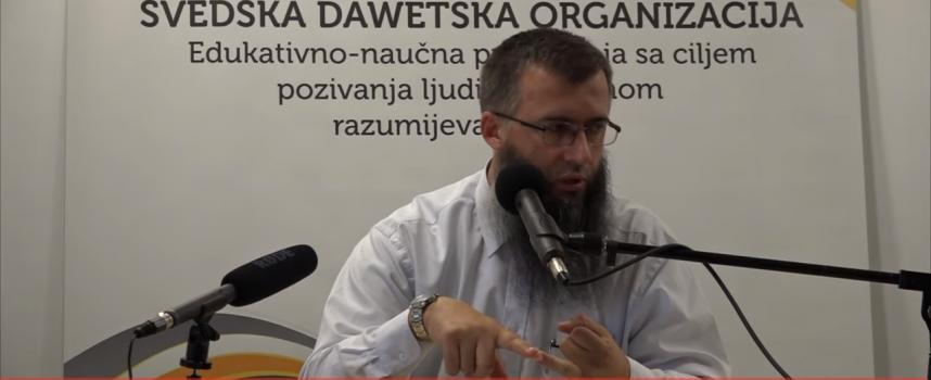Prvo pitaj Allaha i Njegovog Poslanika, a.s. – mr. Hajrudin Ahmetović