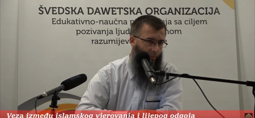Veza izmedju vjerovanja i lijepog odgoja – mr. Hajrudin Ahmetović