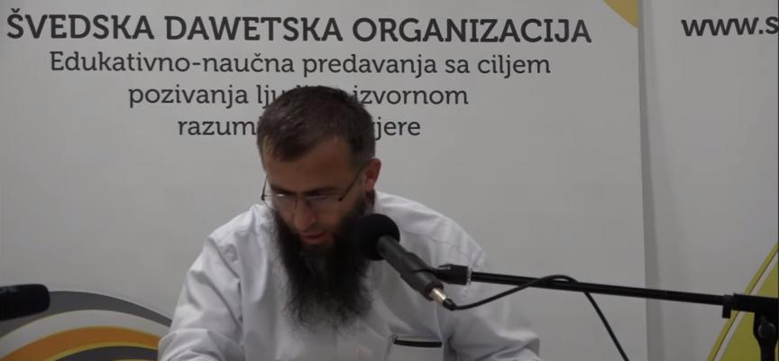 Radi i govori ono što je Allah propisao! – mr. Hajrudin Ahmetović
