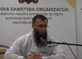 Doista je Allah Sveznajući! – mr. Hajrudin Ahmetović