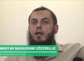 Emotivni govor kurra hafiza Dževada Gološa u Novom Pazaru – klip 1. (23.02.2020.god.)