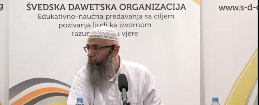 Dr Safet Kuduzović – Oslanjanje na Allaha (sept 2016)