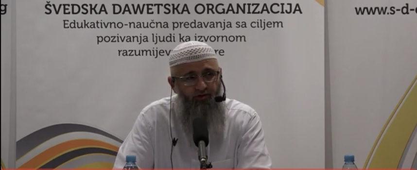 Dr Safet Kuduzović – Roditelji koji ne praktikuju vjeru (sept 2016)