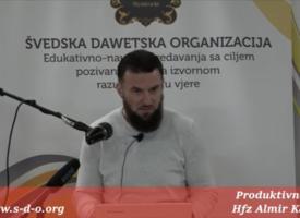 Hfz Almir Kapić – Produktivnost