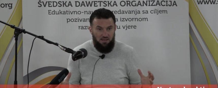 Hfz Almir Kapić – Nastanak sekti