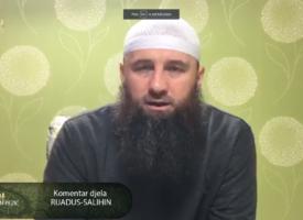 """Komentar djela """"Rijadus-salihin"""" 30.dio – mr. Elvedin Pezić"""