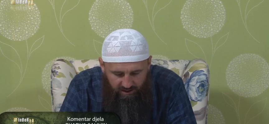 """Komentar djela """"Rijadus-salihin"""" 48.dio – mr. Elvedin Pezić"""