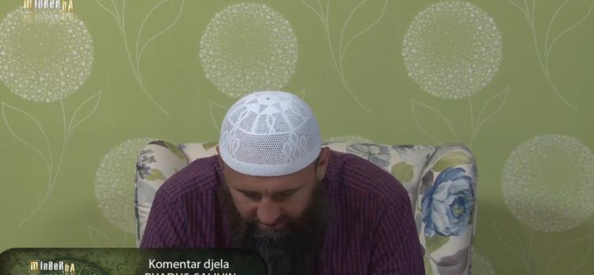 """Komentar djela """"Rijadus-salihin"""" 49.dio – mr. Elvedin Pezić"""