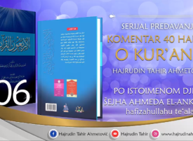 06 Komentar 40 hadisa o Kur'anu