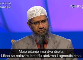 DEBATA: Dr. Zakir Naik i ATEISTA