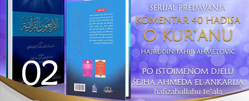 02 Komentar 40 hadisa o Kur'anu