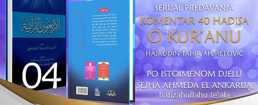 04 Komentar 40 hadisa o Kur'anu