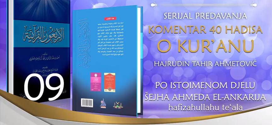 09 Komentar 40 hadisa o Kuranu