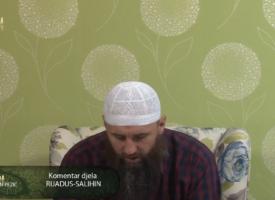 """Komentar djela """"Rijadus-salihin"""" 63.dio – mr. Elvedin Pezić"""