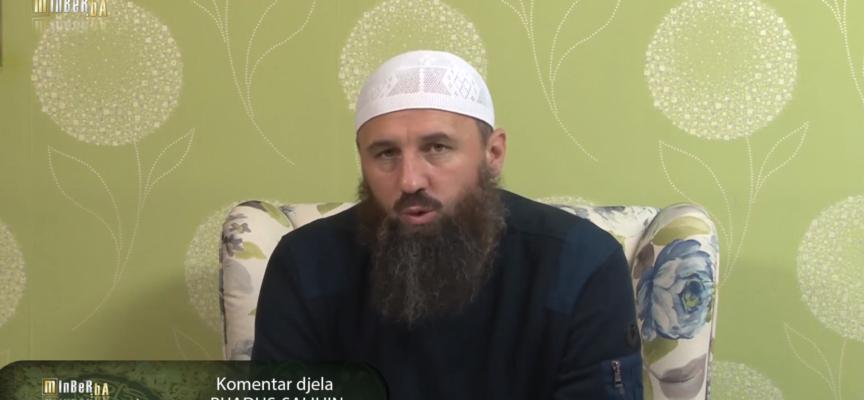"""Komentar djela """"Rijadus-salihin"""" 62. dio – mr. Elvedin Pezić"""