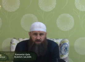 """Komentar djela """"Rijadus-salihin"""" 65.dio – mr. Elvedin Pezić"""