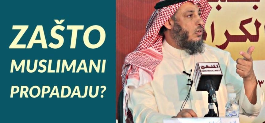 ZAŠTO MUSLIMANI PROPADAJU? | Dr. Osman El-Hamis