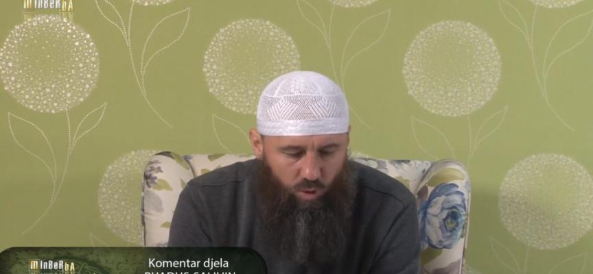 """Komentar djela """"Rijadus-salihin"""" 69.dio – mr. Elvedin Pezić"""
