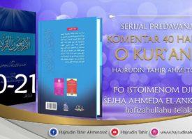 20-21 Komentar 40 hadisa o Kur'anu