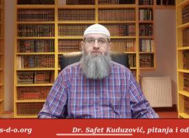 Doticanje mushafa bez abdesta – Dr Safet Kuduzović