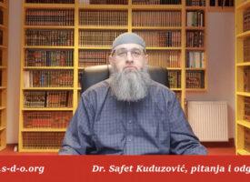 Učenje Kur'ana bez abdesta – Dr Safet Kuduzović