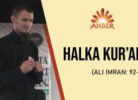 HALKA KUR'ANA (Ali Imran 92-115.) | Amar Gadžun