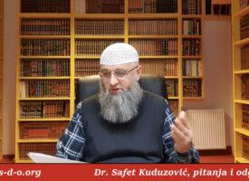 Pitanje u vezi poligamije – Dr Safet Kuduzović