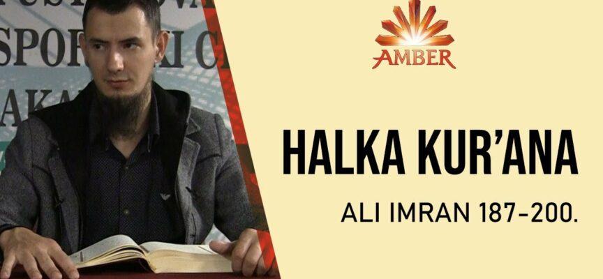 HALKA KUR'ANA (Ali Imran: 187-200.) | Amar Gadžun