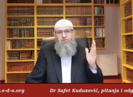 Vješanje mushafa na određena mjesta Dr Safet Kuduzović