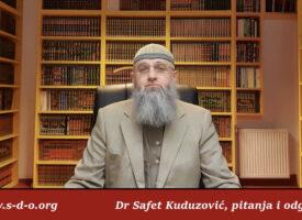 Kako ispravno razumjeti hadis o klanjanju jacije u džematu – Dr Safet Kuduzović