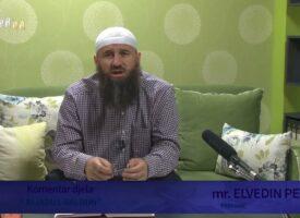 """Komentar djela """"Rijadus-salihin"""" 84.dio – mr. Elvedin Pezić"""