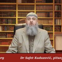 Hadis u vezi kamate kao prašine – Dr Safet Kuduzović