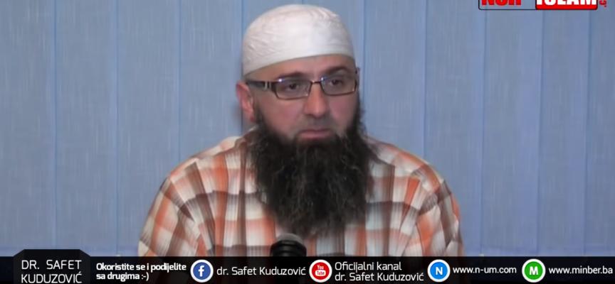 Vjernici moraju čuvati svoje medjusobno bratstvo – dr. Safet Kuduzović