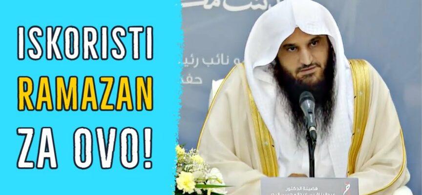 Obnovi svoje vjerovanje u ovom ramazanu! || Abdurrezzak El-Bedr