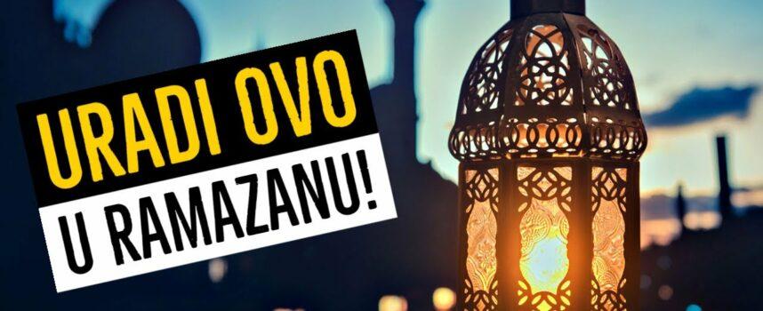 Želiš li uspjeti u ramazanu? URADI OVO! [Abdurrezzak El-Bedr]