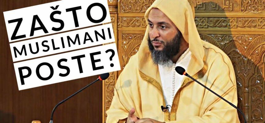 Koja je svrha islamskog posta? | Dr. Seid El-Kemeli
