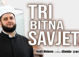 Tri Bitna Savjeta⁴ᵏ mr. Sead-ef. islamović