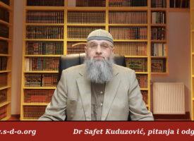 Dova za roditelje nevjernike – Dr Safet Kuduzović